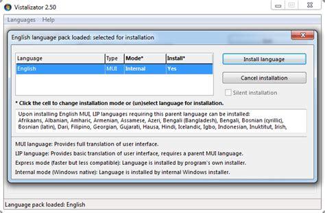 Vistalizator for Windows 7   Change display language in ...