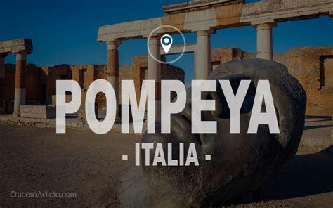 Vistando POMPEYA desde Nápoles | Pompeya italia, Pompeya y ...