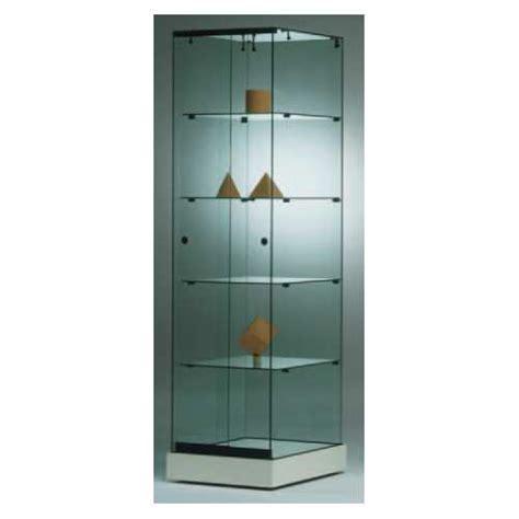 Vitrina Alta de Cristal templado con puerta corredera ...
