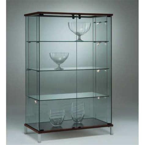 Vitrina Alta de Vidrio de Cristal