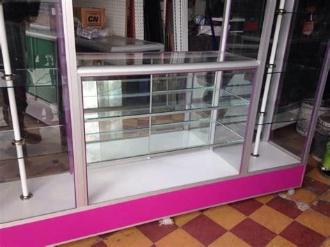 Vitrina Aparador De Ventana Tipo Isla Exhibidor   $ 7,700 ...