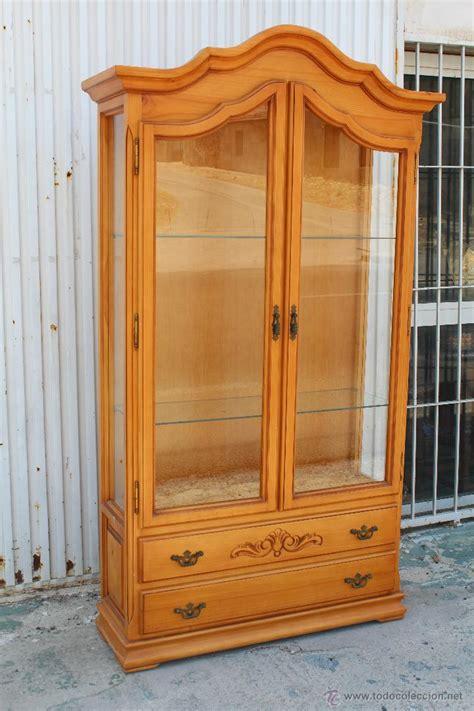 vitrina en madera de pino   Comprar Vitrinas Antiguas en ...