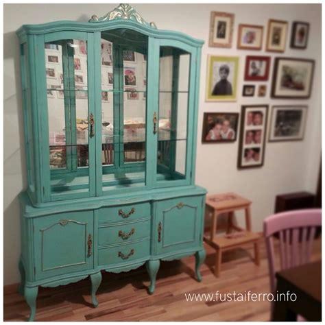 Vitrina restaurada | Muebles viejos, Muebles y Pintar ...