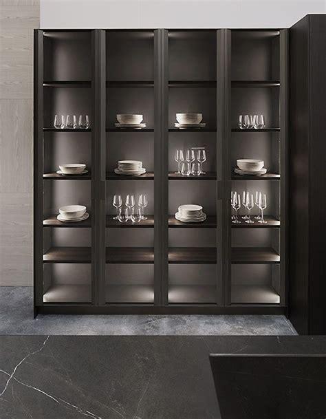 Vitrinas in 2020 | Modern kitchen design, Crockery cabinet ...