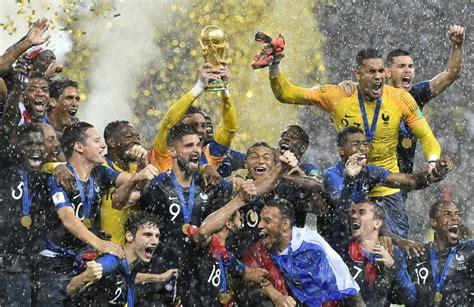 Vive La France: Les Bleus capture classic World Cup final ...