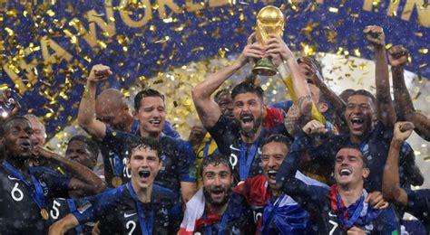 Vive la France!  Selección francesa se corona campeona del ...
