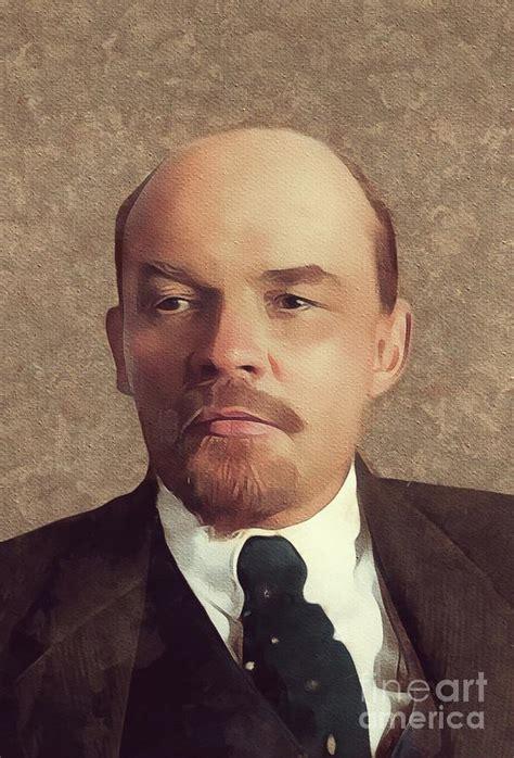 Vladimir Lenin, History Portraits Painting by Mary Bassett