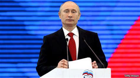 Vladimir Putin steps out | The Economist