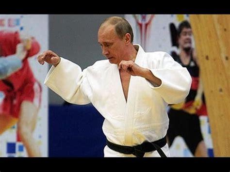 Vladimir Putin the Karate Senpai.   YouTube