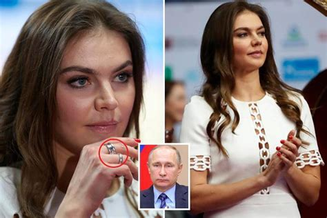 Vladimir Putin's rumoured secret lover Alina Kabaeva, 33 ...