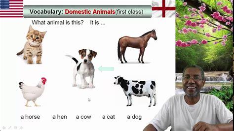 Vocabulário # 3: animais em inglês 1/10  Animals in ...