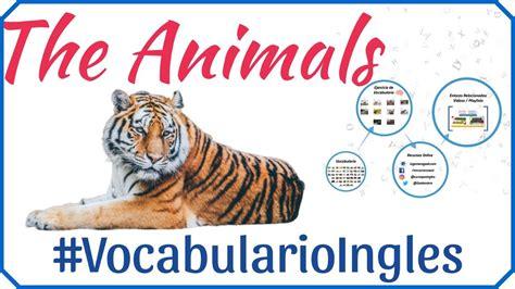 Vocabulario de animales en inglés con imágenes ...