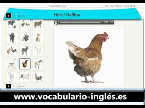 Vocabulario de Ingles Los Animales de Granja  http://www ...
