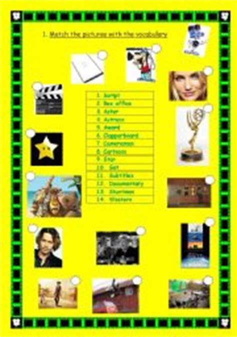 Vocabulary cinema   ESL worksheet by altitania