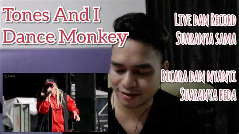 Vocal Coach reacts to Tones and I   Dance Monkey  Live ...