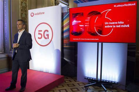 Vodafone comienza a desplegar el 5G en España