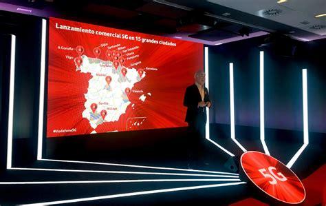 Vodafone da el pistoletazo de salida al 5G comercial en España