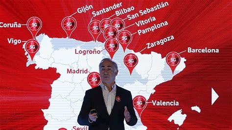 Vodafone lanzará la primera red comercial de 5G en España ...