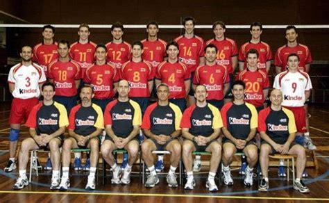 voleibol: selección española de voleibol masculina