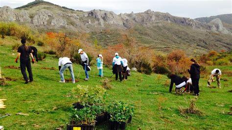 Voluntarios medioambientales de Gas Natural Fenosa ...