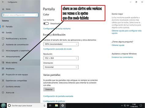 Volver pantalla de inicio a modo normal en windows 10 ...