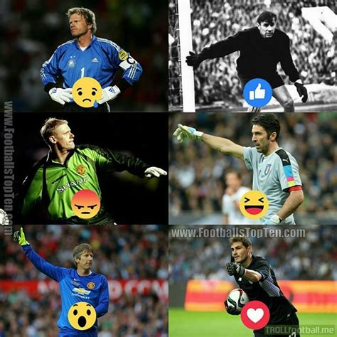 Vote for the best goalkeeper of all time!   Troll Football