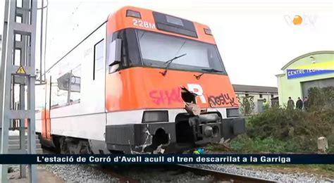 VOTV   L estació de Corró d Avall acull el tren ...