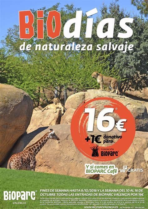 Vuelve BIOdías, la promoción de BIOPARC Valencia ...