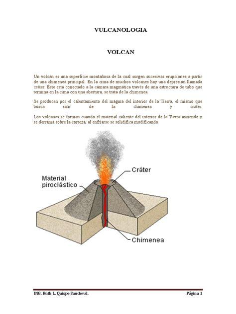 vulcanologia | Volcán | Tipos de erupciones volcánicas