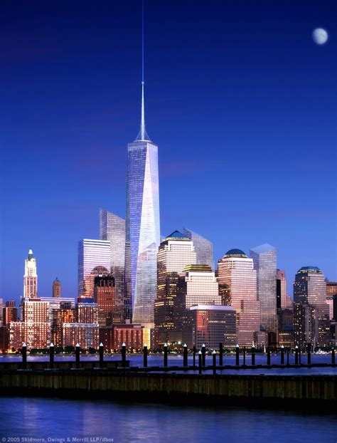 w3trends: One World Trade Center or Freedom Tower