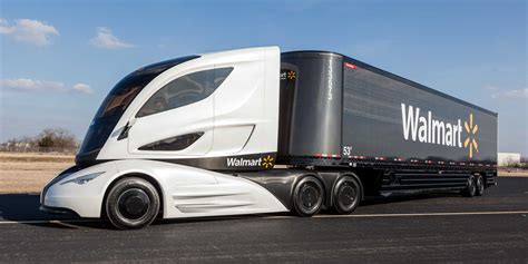 Wal Mart Says This Is The Delivery Truck Of The Future ...