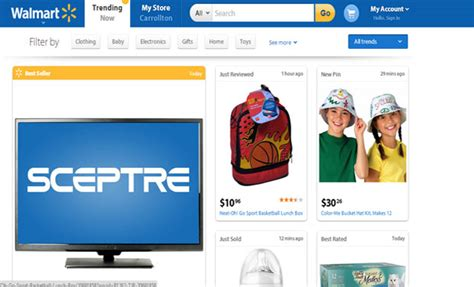 Wal Mart to personalize its shopping website
