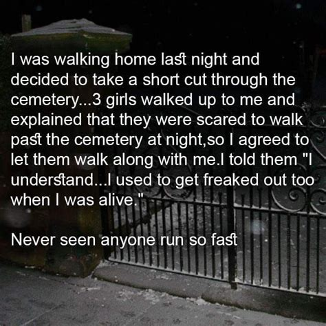 Walking Home! Running fast   Funny jokes, Dark humour ...