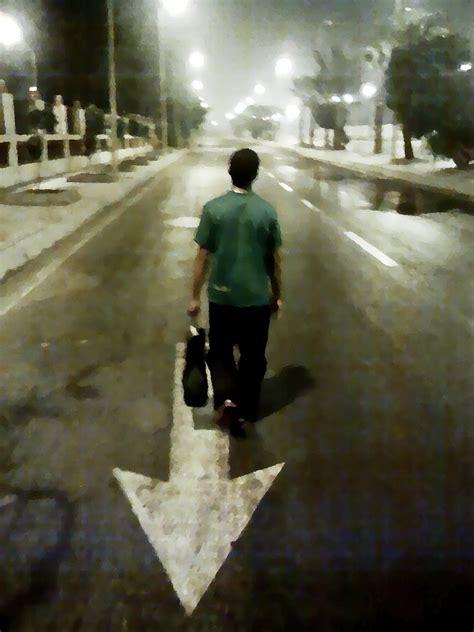 Walking opposite direction by kyoooo on DeviantArt
