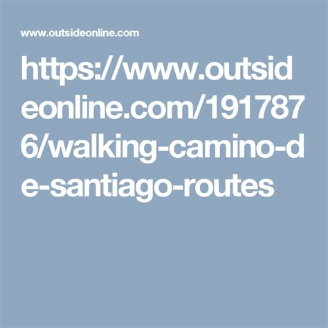 Walking the Camino de Santiago: A Beginner s Guide | How ...
