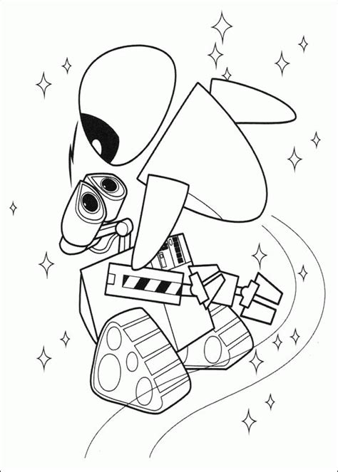 Wall e Coloring Pages   Coloringpages1001.com