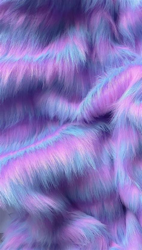 wallpaper background holographic cute furry purple...