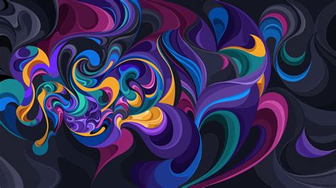 Wallpaper Colorful, Designs, HD, Abstract, #10962