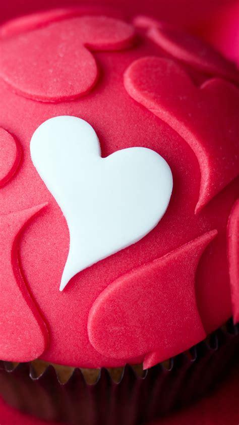 Wallpaper Cupcake, Love heart, 5K, Love, #548   Wallpaper ...