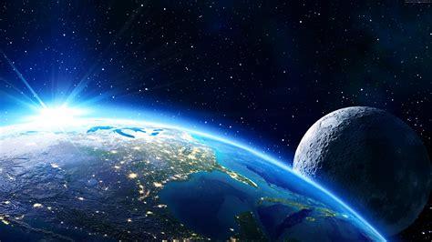Wallpaper Earth, moon, planet, star, 5k, Space ...