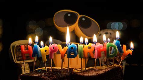 Wallpaper Happy Birthday, WALL E, HD, 4K, Celebrations ...