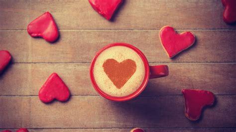 Wallpaper Love hearts, Coffee, 4K, Love, #4810