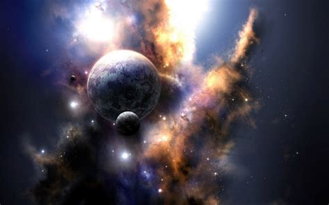 Wallpaper : night, planet, sky, Earth, nebula, world ...