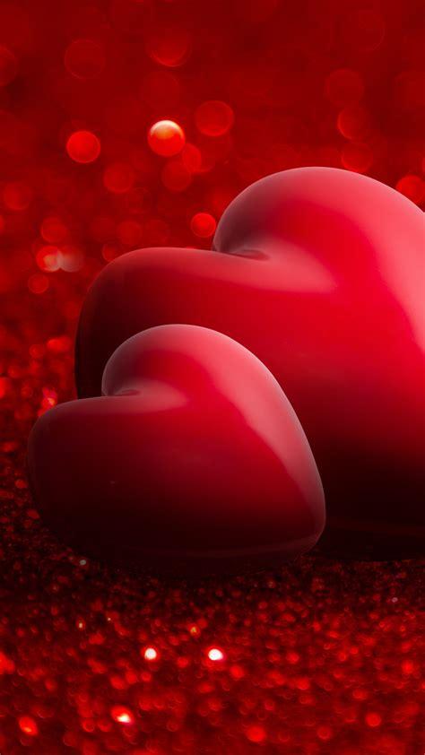 Wallpaper Valentine s Day, love image, heart, red, 4k ...
