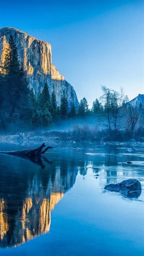 Wallpaper Yosemite, El Capitan, HD, 4k wallpaper, winter ...