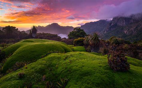Wallpapers Australia Tasmania Nature Mountains Scenery ...