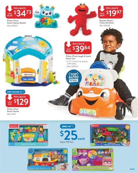 Walmart Ad Toy Sale 2018