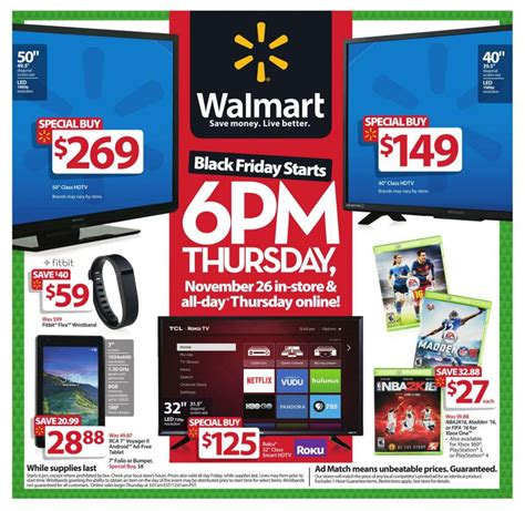Walmart Black Friday sales circular released   here s all ...