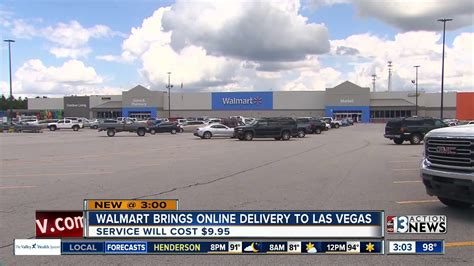 Walmart brings online grocery delivery service to Las ...
