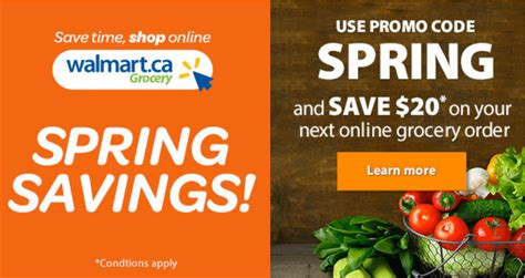 Walmart Canada Promo Code Deals: Save $20 on Your Next ...